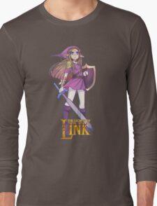 Female Link Purple Long Sleeve T-Shirt