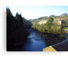 River Clyde Canvas Print