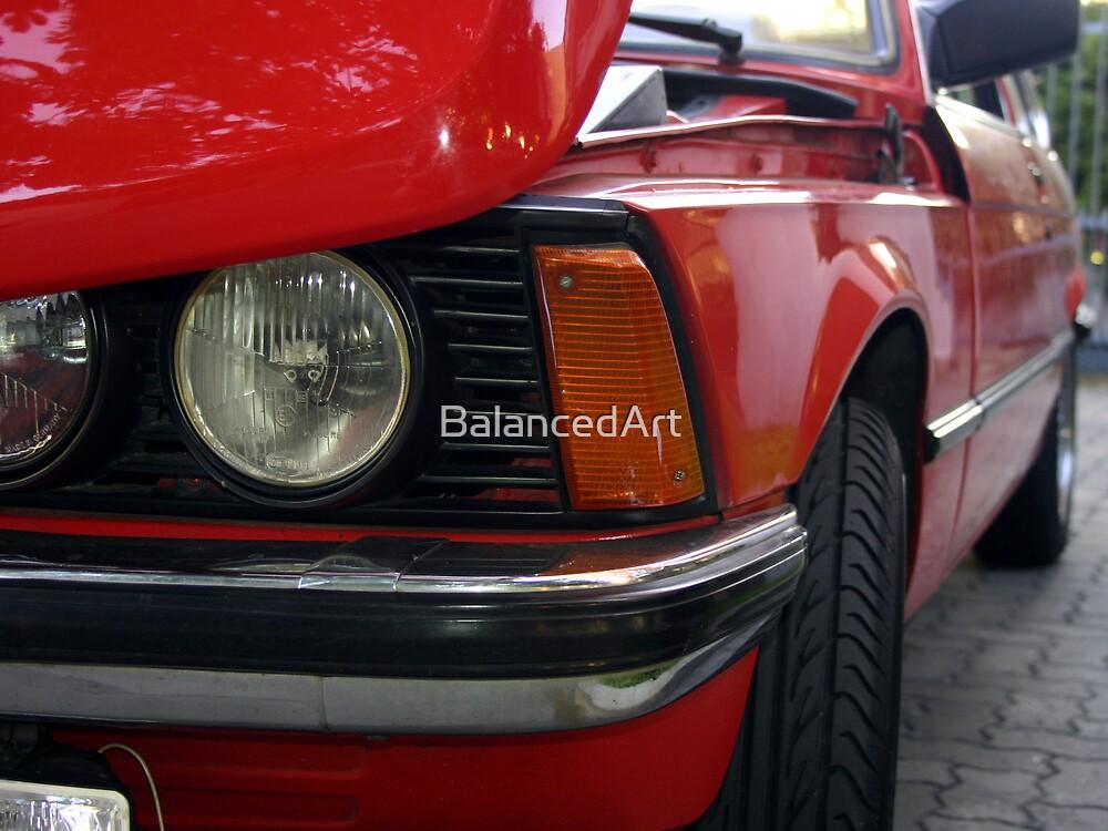 The Red Car by BalancedArt