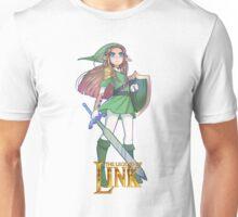 Female Link Green Unisex T-Shirt