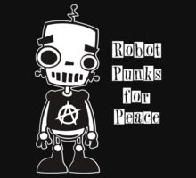 Robot Punks for Peace Kids Clothes