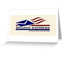 The Mojave Express Greeting Card