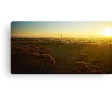 Dawn over Southern Cross (photo Dave Carter) Canvas Print