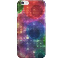 Colorful and Vibrant Abstract Circle Pattern iPhone Case/Skin