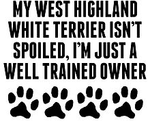 Well Trained West Highland White Terrier Owner by kwg2200