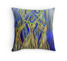 Nematona Throw Pillow