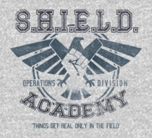 SHIELD Academy (Ops Division) by Arinesart