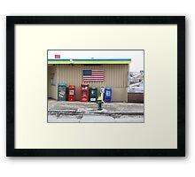 Massachusetts Ave, Boston Framed Print
