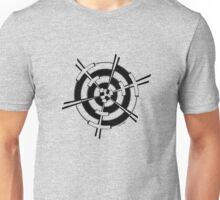 Mandala 3 Back In Black Unisex T-Shirt