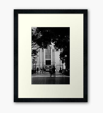 War Memorial - Hyde Park Sydney Framed Print