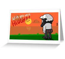 Ech knight 3 postcard. Greeting Card