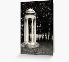 Marble and Metal Greeting Card