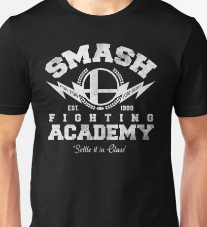 Smash Fighting Academy V2 Unisex T-Shirt