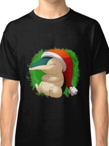 Pokemon Christmas Santa Cyndaquil Classic T-Shirt
