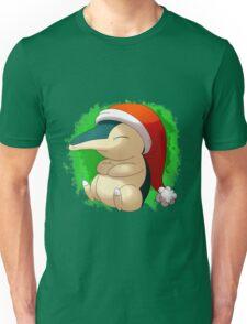 Pokemon Christmas Santa Cyndaquil Unisex T-Shirt
