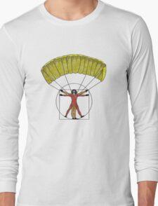 Vitruvian Man Long Sleeve T-Shirt