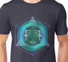 Caught in the Cube - Lovers as they bridge the white of the world  Unisex T-Shirt
