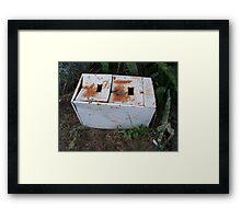 Filing Cabinet Framed Print