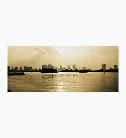 Tokyo Bay at Dusk Photographic Print