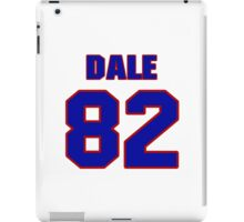 National football player Roland Dale jersey 82 iPad Case/Skin