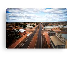 The main street of Menzies (photo Dave Carter) Metal Print