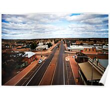 The main street of Menzies (photo Dave Carter) Poster