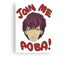 Join me Aoba! Canvas Print