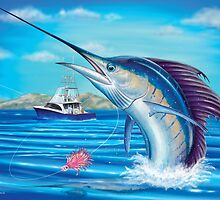 Whiplash - Sailfish by David Pearce