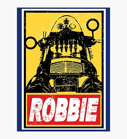 OBEY ROBBIE THE ROBOT  Photographic Print