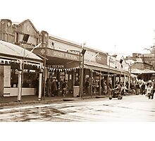Maldon Streetscape Photographic Print