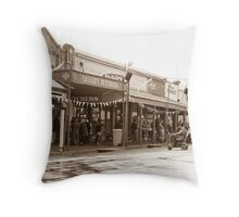 0314 Maldon Streetscape Throw Pillow