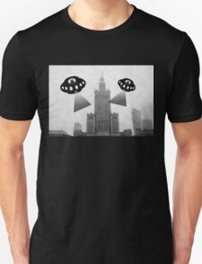 Aliens attack Warsaw T-Shirt