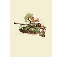 tired of war Photographic Print