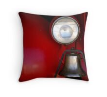 Old Firefighter.... Throw Pillow