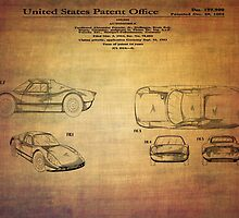Ats Gt Porshe Patent From 1963 by Eti Reid