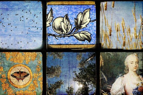 Six Scenes Blue by Melanie  Dooley