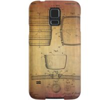 J.c.roth Beer Keg Patent From 1898 Samsung Galaxy Case/Skin