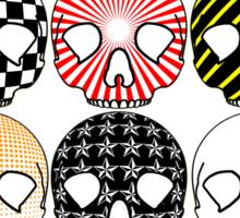 Skullpatternschytsofrenzy Sticker