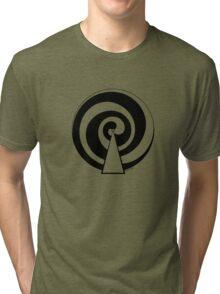 Mandala 9 Back In Black Tri-blend T-Shirt