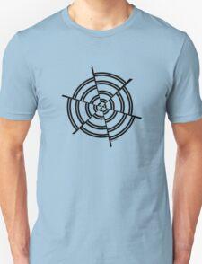 Mandala 2 Back In Black T-Shirt