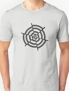 Mandala 2 Back In Black Unisex T-Shirt