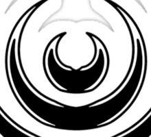 Mandala 8 Back In Black Sticker
