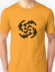 Mandala 10 Back In Black Unisex T-Shirt