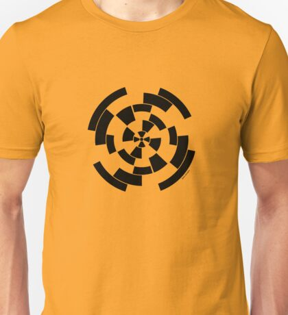 Mandala 10 Back In Black Unisex T-Shirt