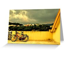 Bicycles n.1 Greeting Card