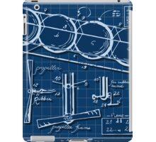 Kids Plane Project on Blueprint iPad Case/Skin