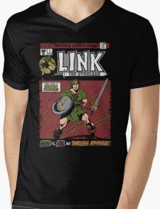 Link the Hyrulean (Comic) Mens V-Neck T-Shirt