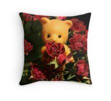 Valentine Bear Throw Pillow