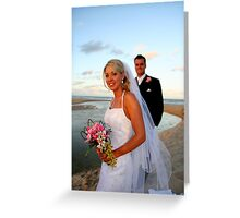 """""""And so the story Begins"""" Greeting Card"""