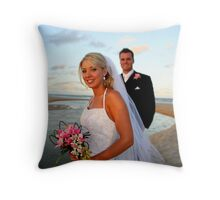 """""""And so the story Begins"""" Throw Pillow"""